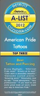 Black and White Tattoos Pontiac MI - American Pride Tattoos - 2