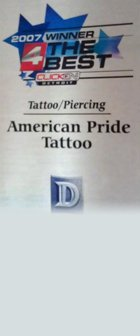 About American Pride Tattoos - Tattoos Waterford MI, Tattoo Artist, Piercing, Permanent Makeup - 4