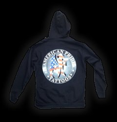Hoodies Waterford MI - Apparel, Steadfast Brand Clothing - American Pride Tattoos - 2