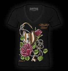 Womens Shirts Waterford MI - Clothing for Women, Steadfast Brand - American Pride Tattoos - 5