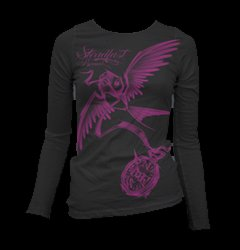 Womens Shirts Waterford MI - Clothing for Women, Steadfast Brand - American Pride Tattoos - 8