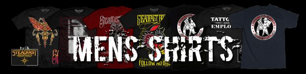 Mens Shirts Waterford MI - Clothing for Men, Steadfast Brand, Palehorse Designs - American Pride Tattoos - menshirts