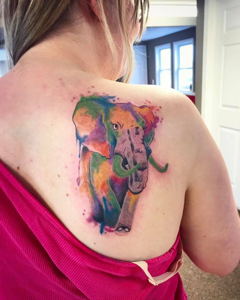 Waterford MI's Best Color Tattoos - American Pride Tattoos - tattoo7
